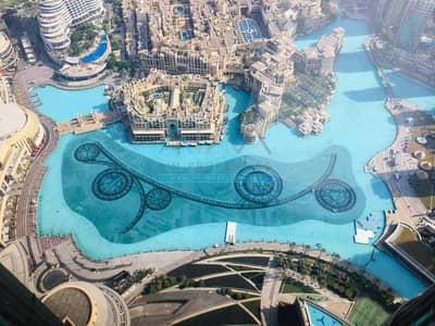 2 Bedroom Apartment for Rent in Downtown Dubai, Dubai - FULL FOUNTAIN VIEW 2 BR + MAID IN BURJ KHALIFA