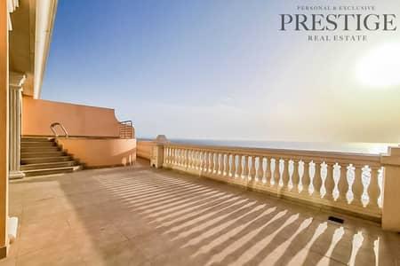 فلیٹ 5 غرف نوم للايجار في نخلة جميرا، دبي - Furnished   Exclusive   Sea & Marina View