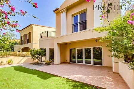 4 Bedroom Townhouse for Sale in Green Community, Dubai - 4 Beds | Next to pool | Single row