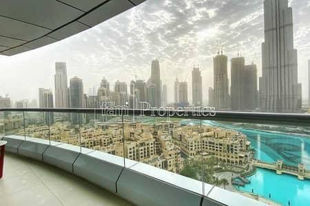 شقة فندقية 1 غرفة نوم للايجار في وسط مدينة دبي، دبي - 02 Panoramic Burj & Fountain View | All inclusive
