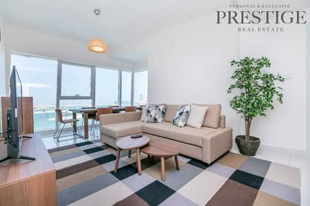 2 Bedroom Flat for Rent in Dubai Marina, Dubai - Two bed | Furnished | Sea view | High Spec