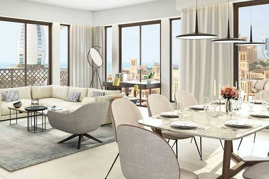 2 EXCLUSIVE | Luxury 4 BR Apartment with Burj View