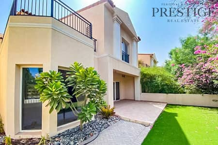 4 Bedroom Townhouse for Sale in Green Community, Dubai - Vacant in July | Next to Park | 4 Bed