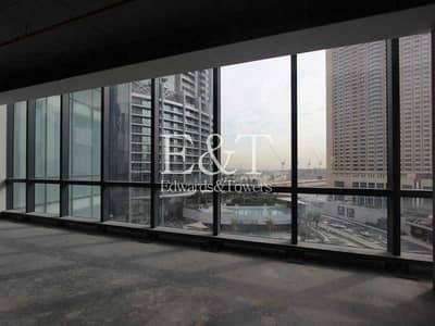 مکتب  للايجار في وسط مدينة دبي، دبي - Shell and Core Office   BLVD Plaza T1