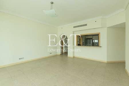 شقة 2 غرفة نوم للايجار في نخلة جميرا، دبي - Full Sea view