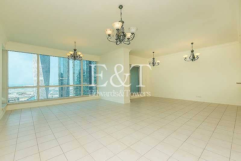 2 Full Marina View|High Floor|Vacant|Unfurnished