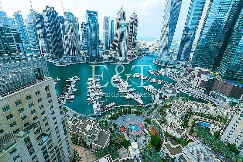 42 Full Marina View|High Floor|Vacant|Unfurnished