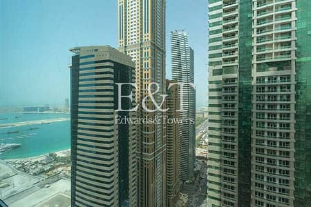 فلیٹ 2 غرفة نوم للايجار في دبي مارينا، دبي - Exclusive: Available 24th June | High Floor