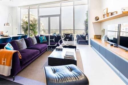 شقة 3 غرف نوم للايجار في نخلة جميرا، دبي - Fully Upgraded and Bespoke | Luxury German Kitchen