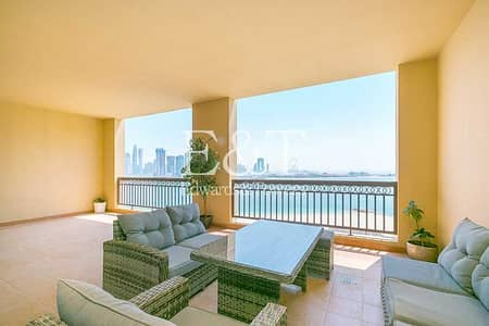 3 Bedroom Apartment for Sale in Palm Jumeirah, Dubai - EXCLUSIVE   High Floor   B Type    Full Sea View