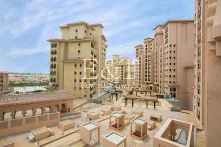 شقة 2 غرفة نوم للبيع في عقارات جميرا للجولف، دبي - Community Facing| Full Plaza Views | Two Bedrooms