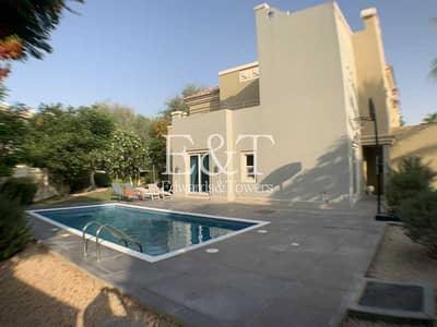 فیلا 4 غرف نوم للايجار في مدينة دبي الرياضية، دبي - Pool with Chiller   Huge Corner Plot   Cls to Park