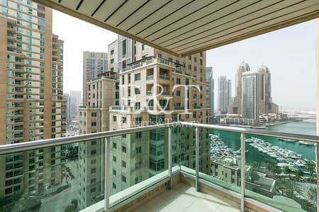 1 Bedroom Apartment for Rent in Dubai Marina, Dubai - Exclusive | Marina View | Available End August