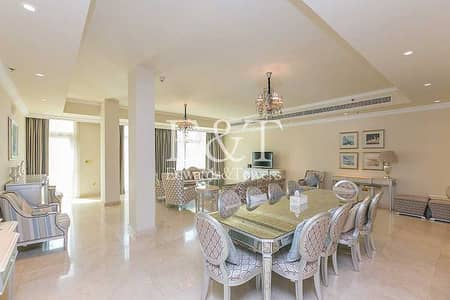 4 Bedroom Townhouse for Sale in Palm Jumeirah, Dubai - Private Pool   Vacant On Transfer   5859 SqFt   PJ