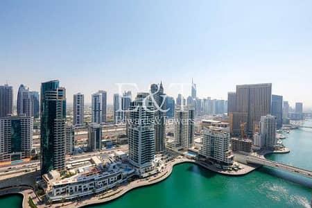 فلیٹ 2 غرفة نوم للايجار في دبي مارينا، دبي - Ready to Move in   Superb 2 BR With Marina View