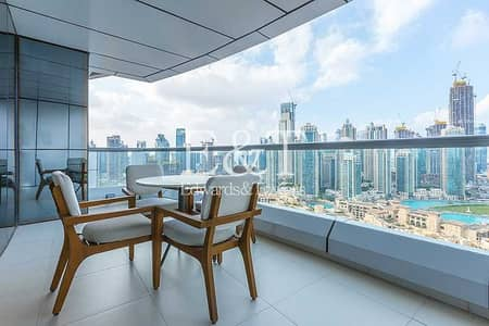 2 Bedroom Flat for Sale in Downtown Dubai, Dubai - Fully Furnished | Burj Khalifa view | Vacant