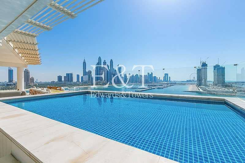 2 Exclusive Listing: High Floor Penthouse with Pool