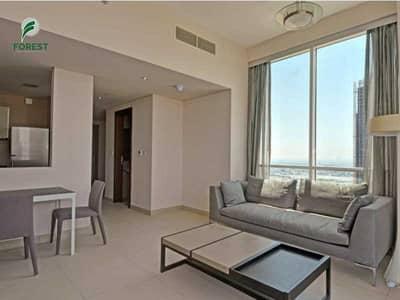 شقة 1 غرفة نوم للبيع في الصفوح، دبي - High Floor | 1BR | Sea and Burj Al Arab Views