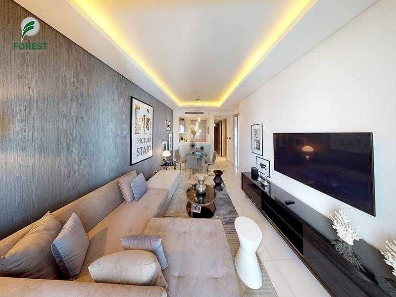 شقة فندقية في برج D أبراج داماك من باراماونت للفنادق والمنتجعات الخليج التجاري 1 غرف 1350000 درهم - 5264009