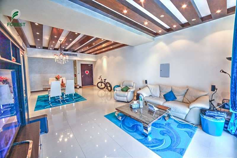 Best Price for Furnished 2BR with Best Marina View