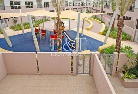 2 Bedroom Townhouse for Sale in Jumeirah Golf Estates, Dubai - 2 Bedrooms + Maids | Larger Plot |Park Facing| JGE