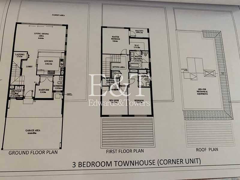 18 2 Bedrooms + Maids   Larger Plot  Park Facing  JGE