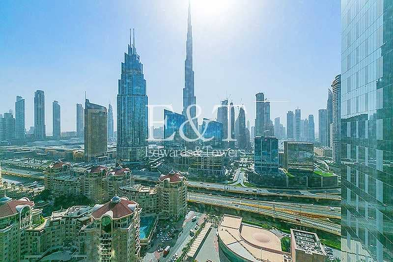 2 Partitioned Furnished    Amazing View in DIFC