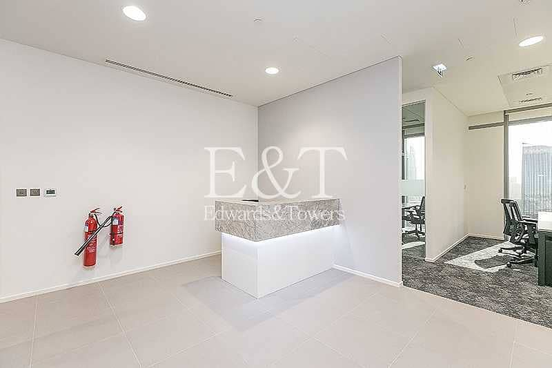 18 Partitioned Furnished    Amazing View in DIFC
