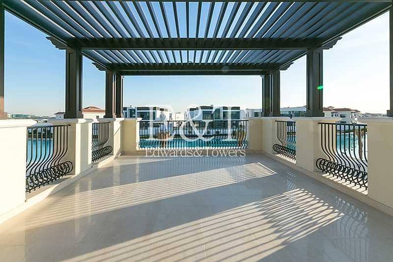 2 Mediterranean Type A Mansion | Crystal Lagoon view