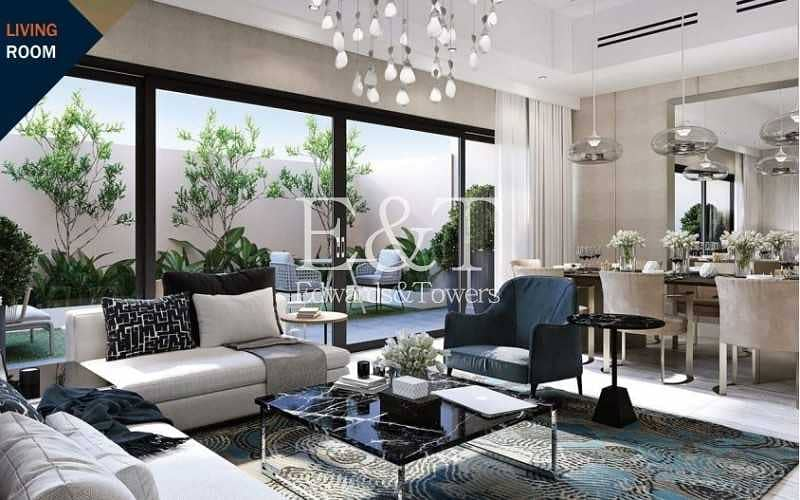2 European Finishing Corner Townhouses|Ready by 2022