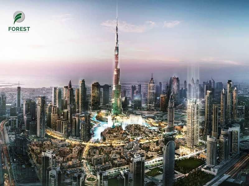 Burj khalifa & Fountain View |3BR APT | High Floor