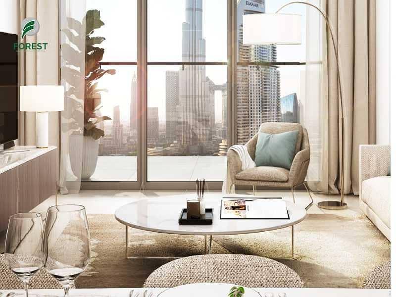 2 Burj khalifa & Fountain View |3BR APT | High Floor