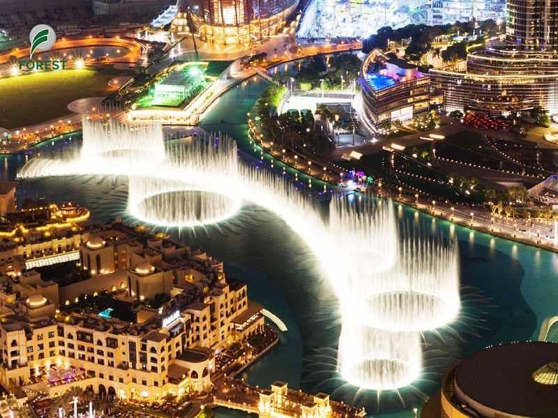 13 Burj khalifa & Fountain View |3BR APT | High Floor