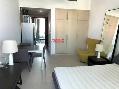 استوديو  للايجار في الصفوح، دبي - Biggest studio in sufouh unfurnished with balcony