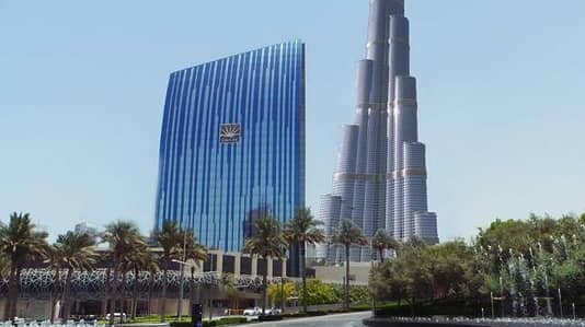 Luxury Office in Downtown Opposite Dubai Mall Partial View Burj Khalifa
