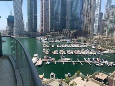 2 Bedroom Flat for Rent in Dubai Marina, Dubai - Luxury Furniture - Chiller Free - Marina View