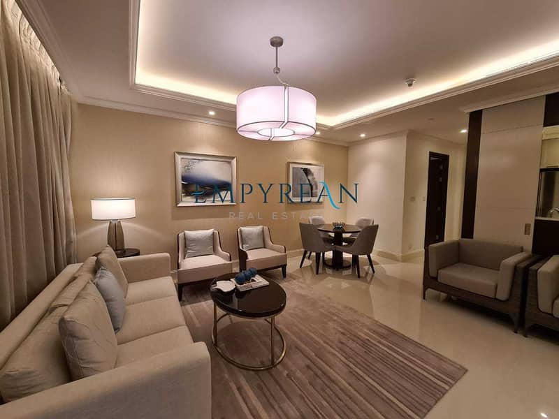 Fully Furnished / Vacant / Canal View
