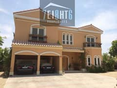 5 b/r independent high quality fully FURNISHED villa with maids room, private swimming pool and landscaped garden