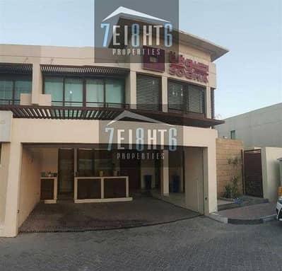 4 Bedroom Villa for Rent in Al Badaa, Dubai - Commercial villa : Approved for Commercial Use: 4 bedroom semi-indep villa for rent in Jumeirah 1
