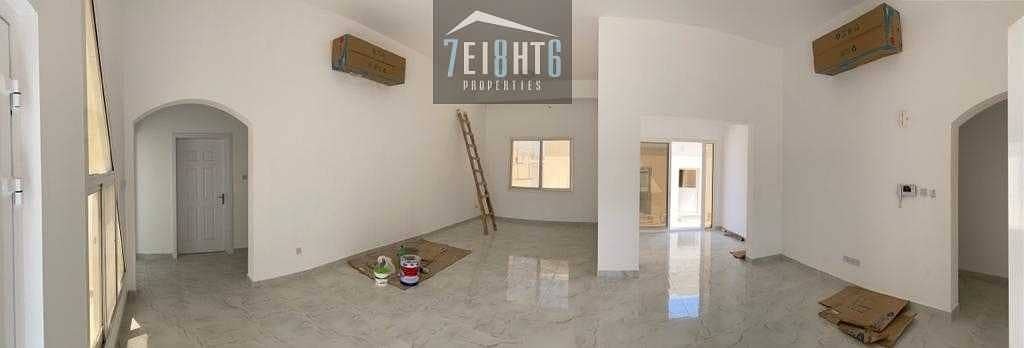 2 Excellent property: 4 b/r good quality indep villa + maids room + large garden for rent in Al Sufouh