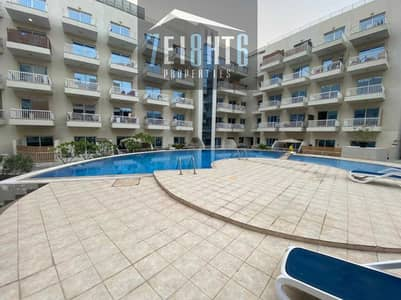 2 Bedroom Flat for Rent in Jumeirah Village Circle (JVC), Dubai - FULLY FURNISHED: 2 b/r good quality apartment + BALCONY + s/pool for rent in JVC