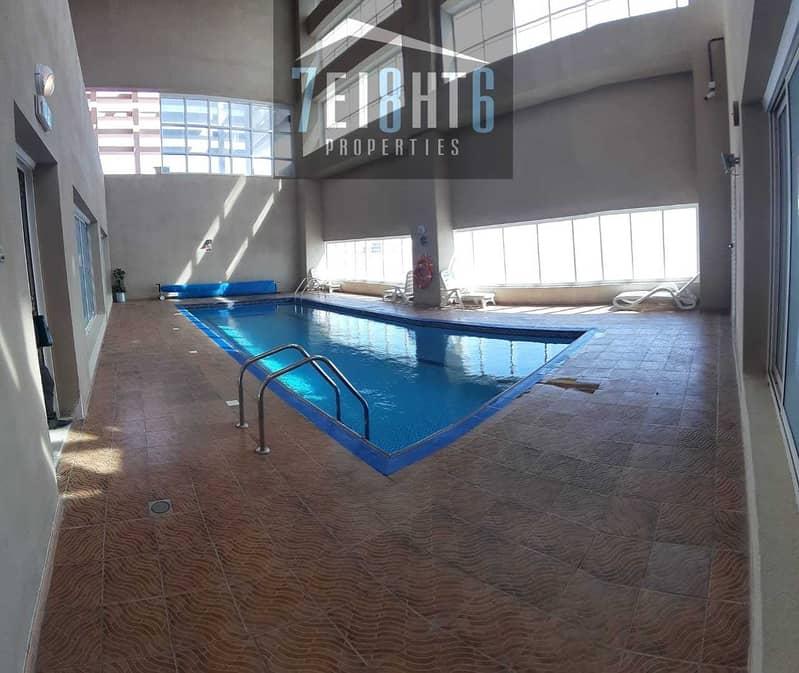11 HOT SALE: 3 b/r good quality Apt + maids room + shared s/pool + gym + sauna + large garden for sale in JLT
