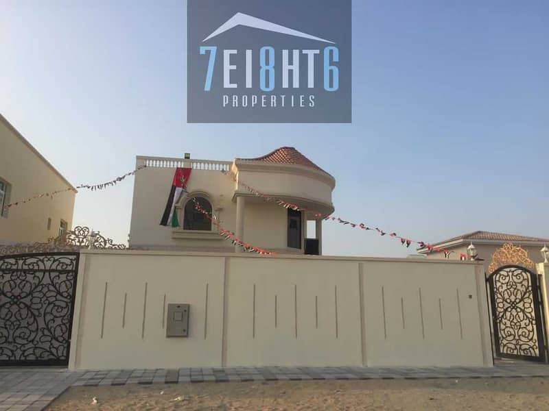 12 Outstanding property: 3 b/r good quality independent villa + large garden for rent in Khawaneej 2