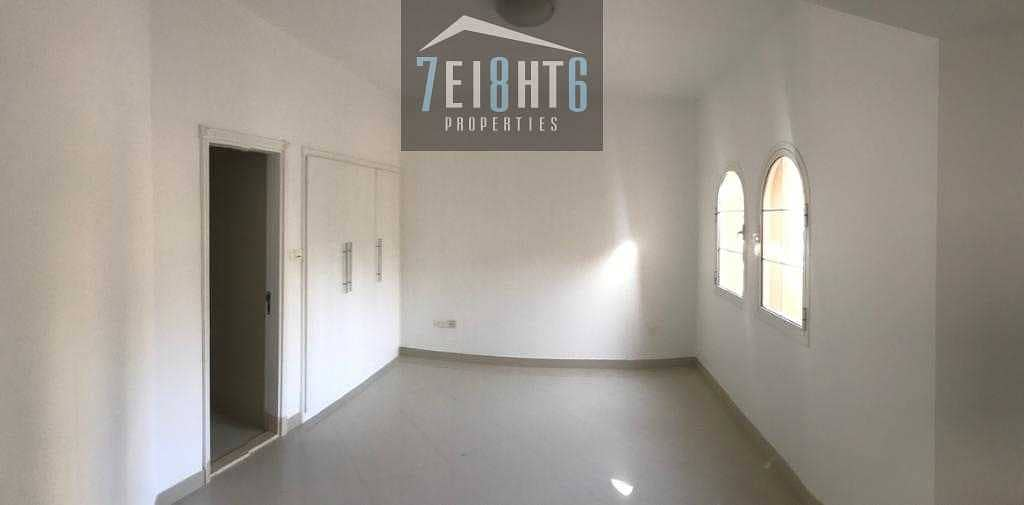 2 Beautifully presented: 4 b/r good quality semi-indep villa + maids room + large garden for rent Al Sufouh
