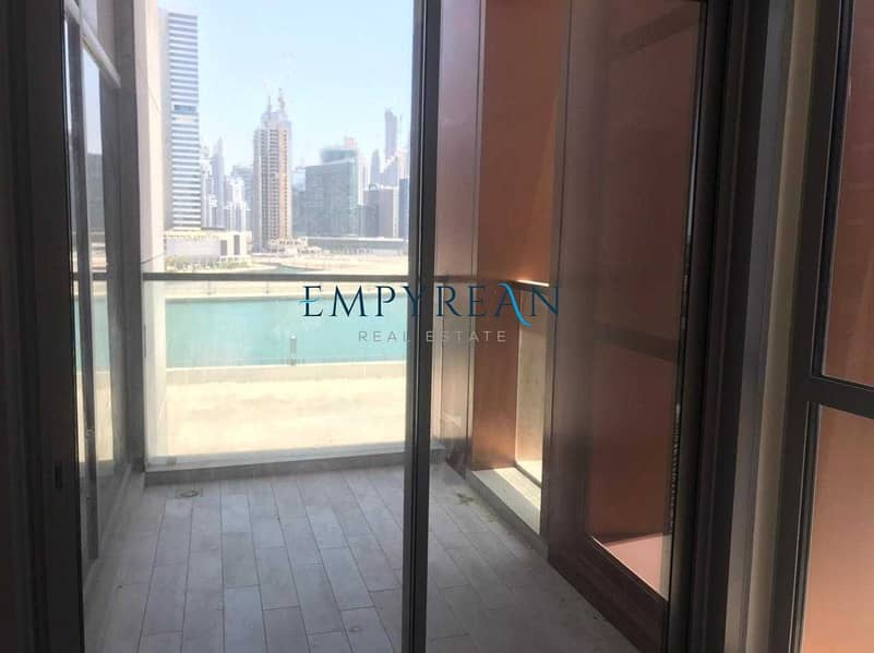 12 BURJ AND LAKE VIEWS LARGE ONE BR BRIGHT TWO BALCONIES
