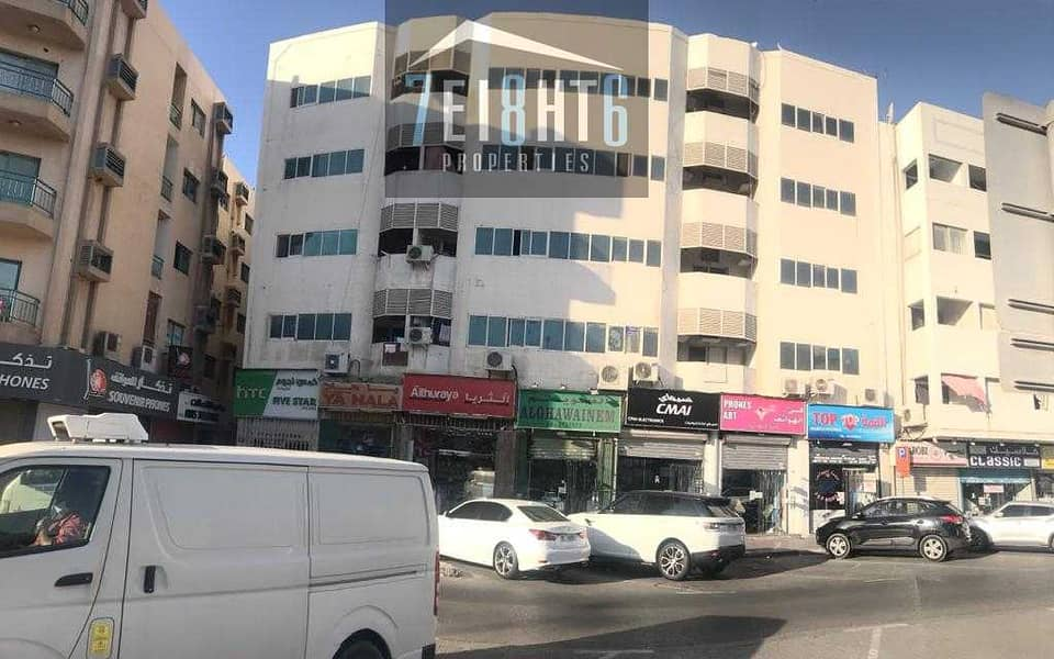 9 Exceptional value building: 25 1b/r good quality independent villa + large garden for rent in Deira