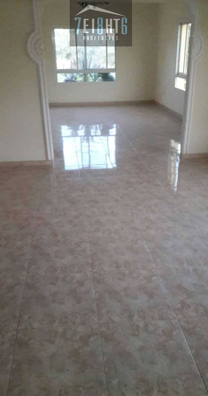 2 Outstanding quality: 5 b/r indep villa + maids room + large landscaped garden for rent in Mizhar 1
