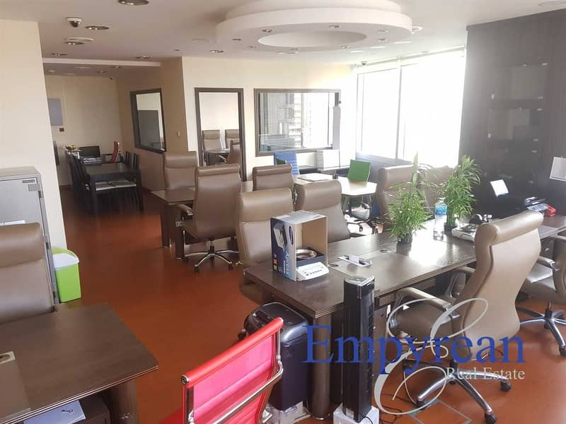 20 FULLY FITTED OFFICE | 25th Floor |  AU GOLD TOWER | DMCC JLT