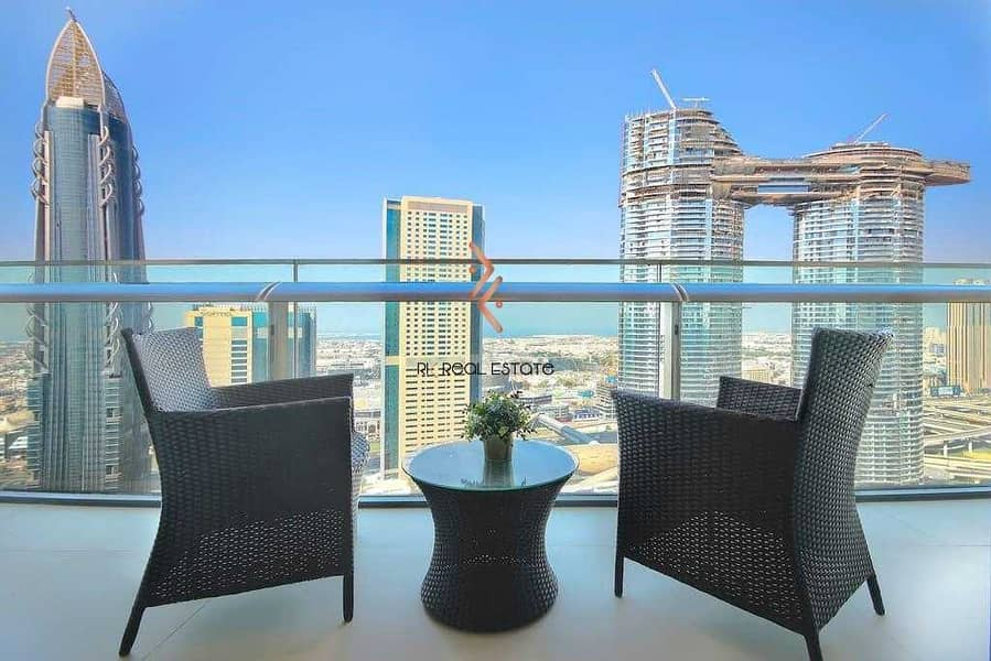 Fully Furnished 2BR with Balcony