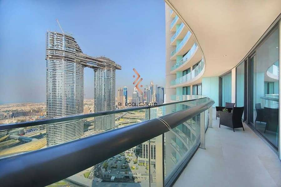 2 Fully Furnished 2BR with Balcony